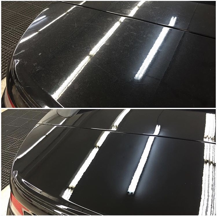 Paint correction HOOD